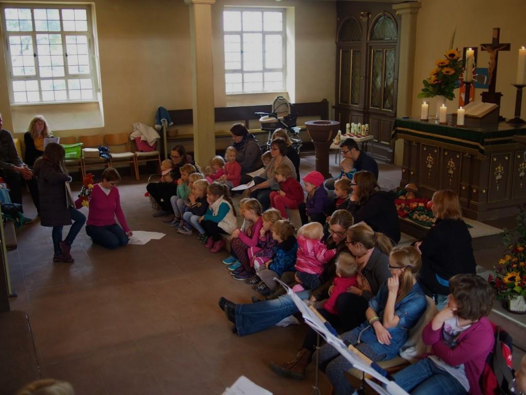 Kleine Leute Gottesdienst