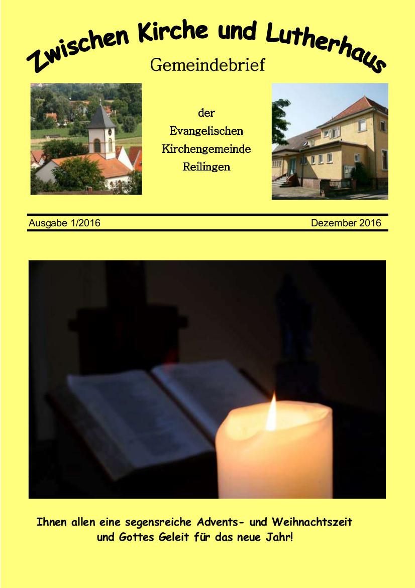 Gemeindebrief 1-2016
