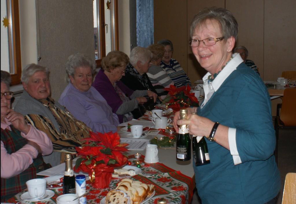 Weihnachtsfeier 2015 im Seniorenkreis